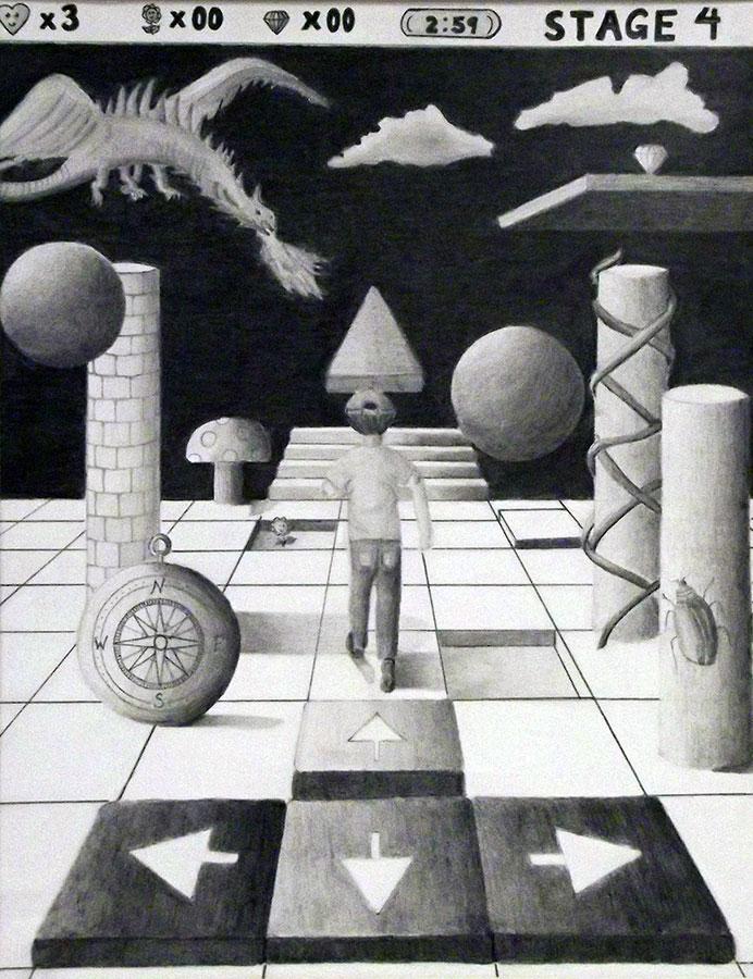 Shirley D., Surrealism, Grade 9