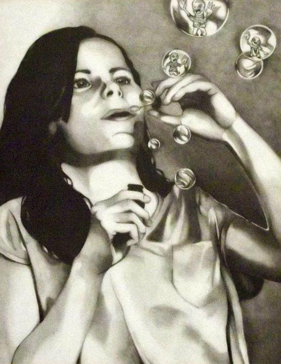 Catie D., Graphite Pencil