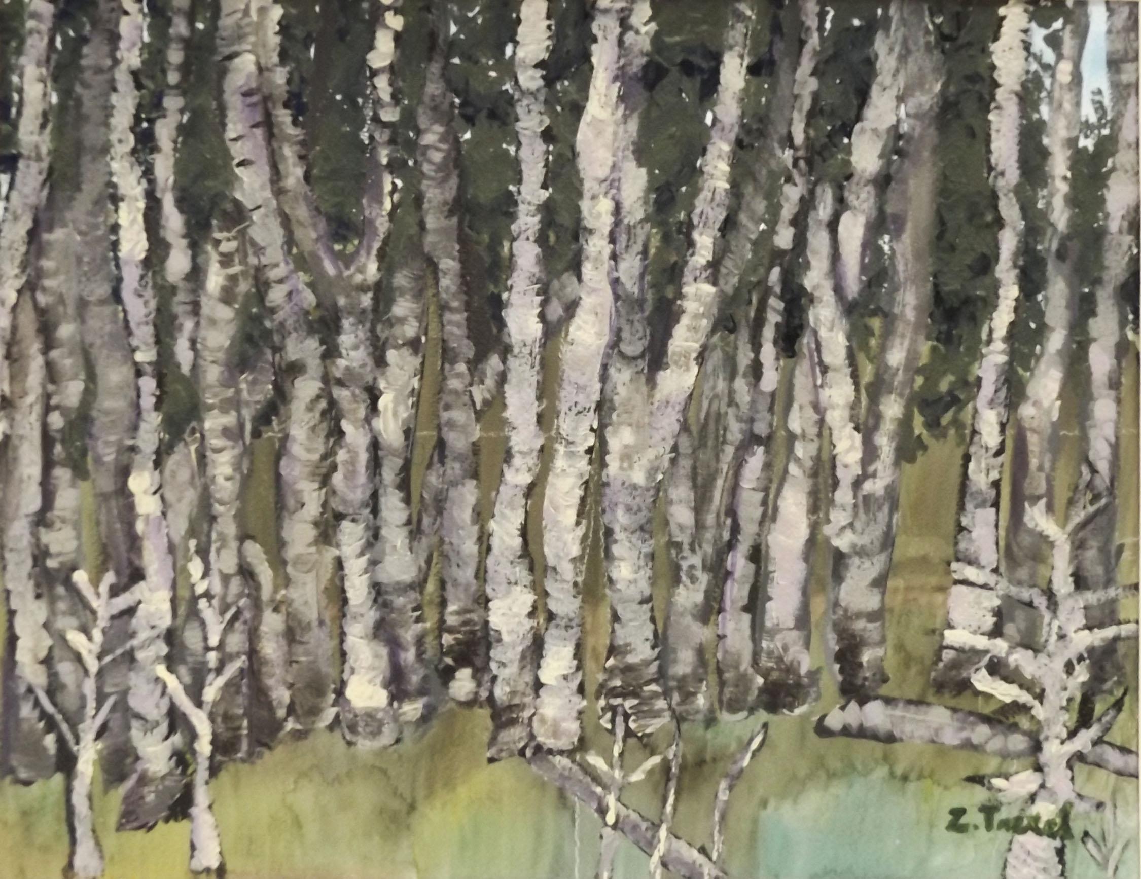 Zoe T., Landscape, Grade 8